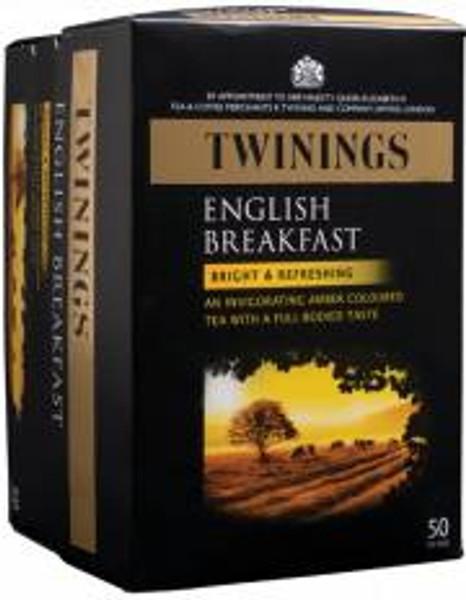 Twinings English Breakfast 50 tea bags