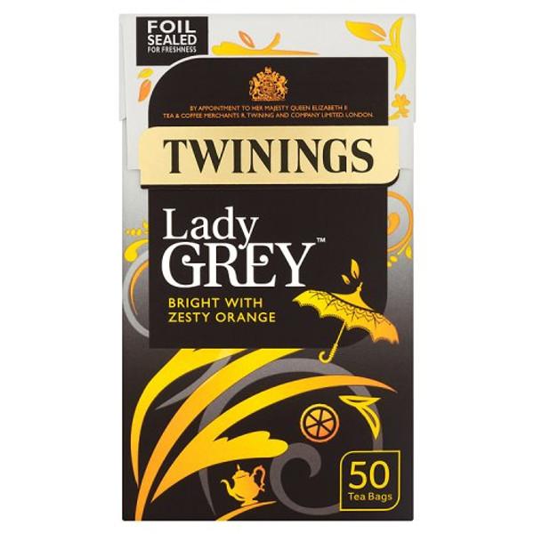 Twinings Lady Grey 50 tea bags