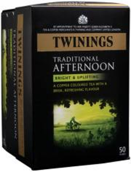 Twinings Traditional Afternoon 50 tea bags