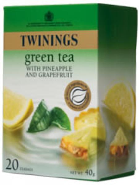 Twinings Green Tea Pineapple & Grapefruit 20 tea bags