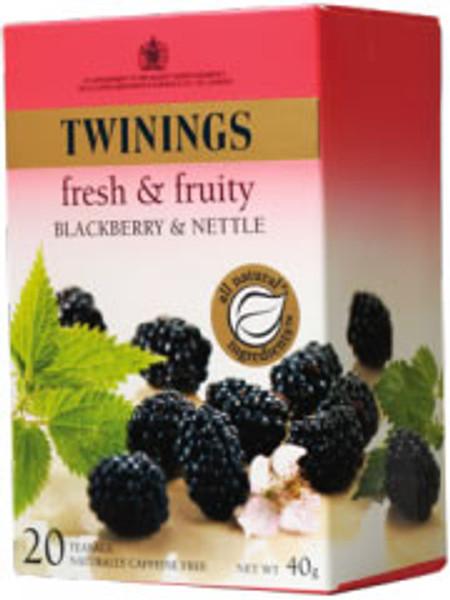Twinings Infusion Wild Blackberry & Nettle 20 tea bags