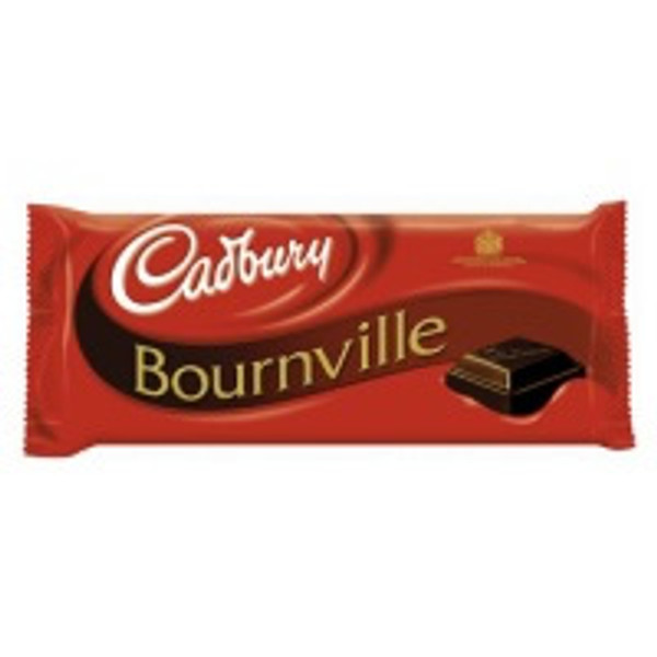 cadbury dark chocolate bar