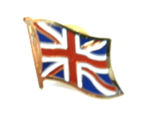 Union Jack Brass Collectors Pin