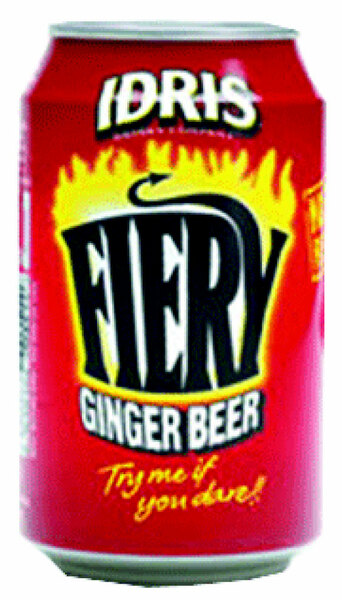 Ginger beer soda cam 330ml