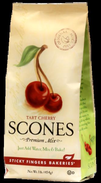 Sticky Fingers English Scone Mix Tart Cherry