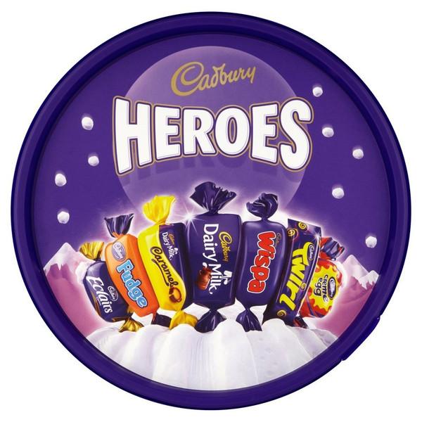 Cadbury Heroes Tub