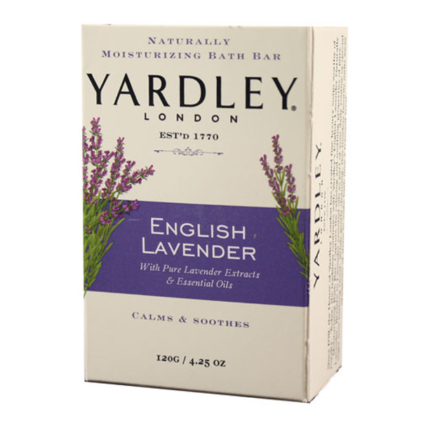 Yardley lavendar soap