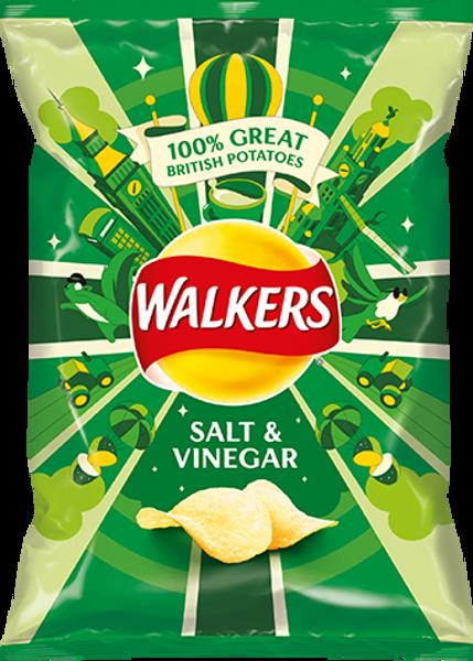 Walkers Salt n Vinegar Crisps