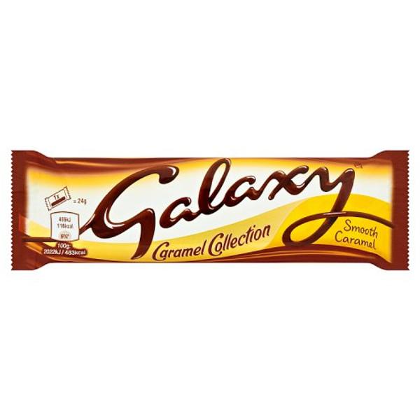 Mars Galaxy smooth milk bar Caramel