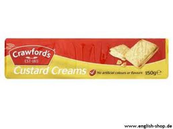 Crawford`s Custard Cream  150g