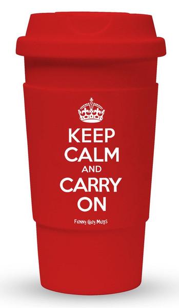 Keep Calm Carry On Travel Mug