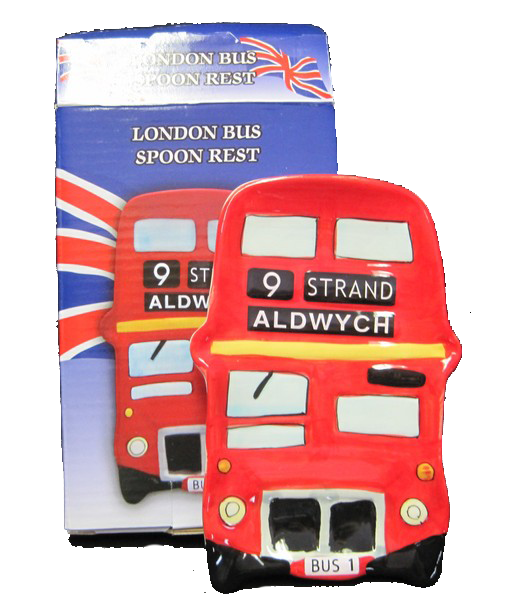 London bus spoon rest