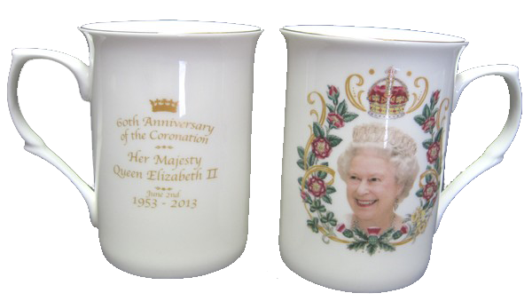 the new queen mug
