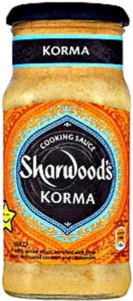 korma by sharwoods