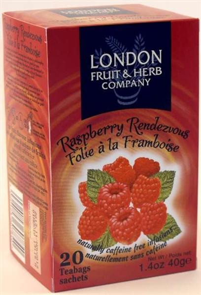 London Fruit & Herb Raspberry Rendezvous 20 Tbag