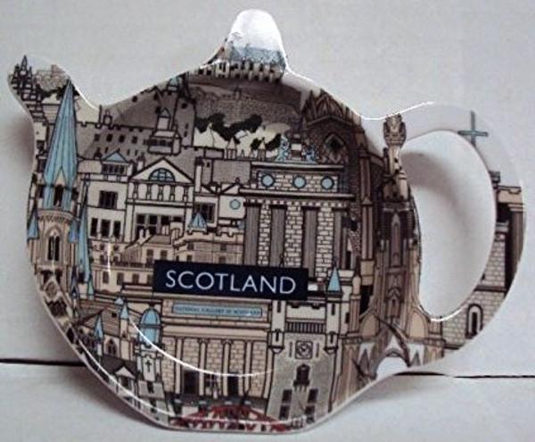scotland landmarks Tea Caddy