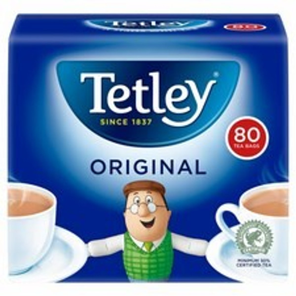 Tetley Tea Original 80s