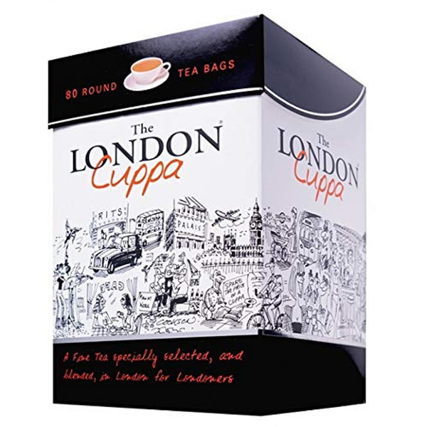 The London Cuppa Teabags 80s
