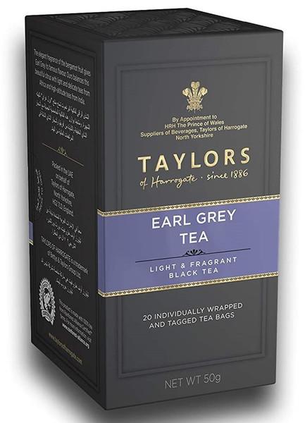 Taylors of Harrogate Earl Grey Tea, 20 Tea Bags