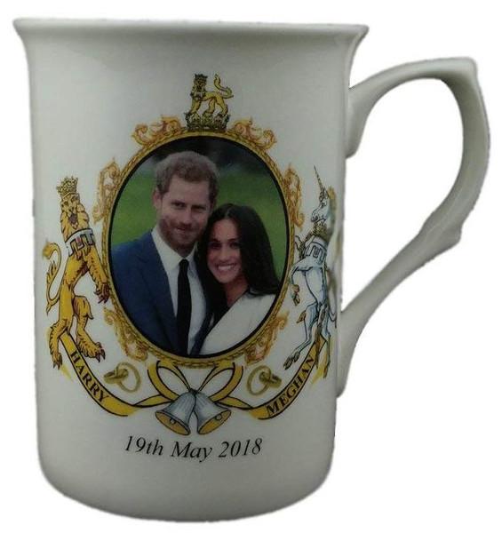 Royal Wedding Prince Harry and Meghan Collectible Bone China Mug