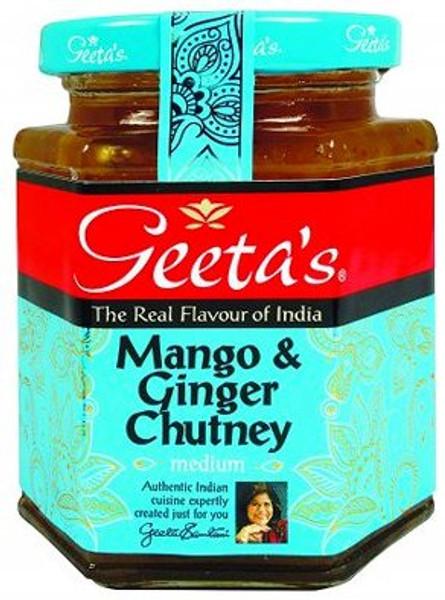 Geeta's Mango and Ginger Chutney 320g