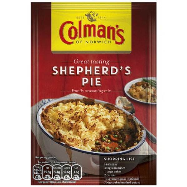 Colmans Shepherds Pie Mix Sachet