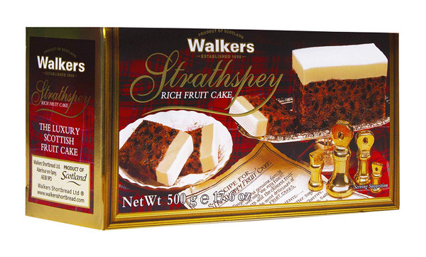 Walkers Strathspey Rich Fruit Cake 500g