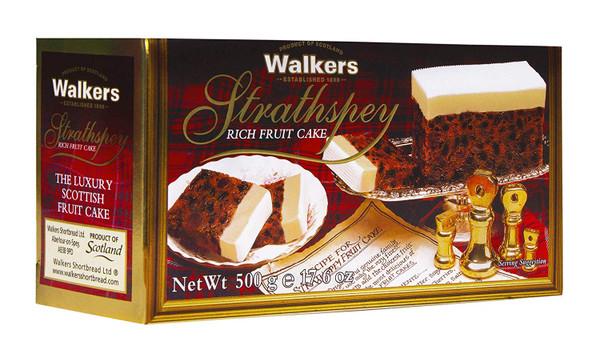 Walkers Strathspey Rich Fruit Cake 500g