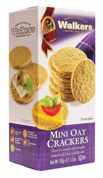 Walker's Mini Oat Crackers 5.3 Oz