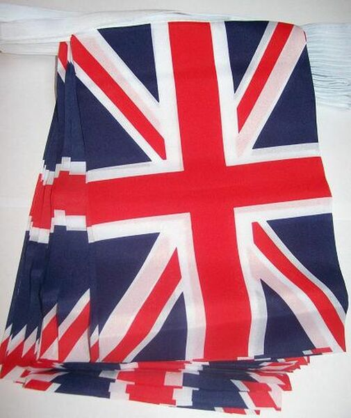 12' Union Jack Square Flag Banner