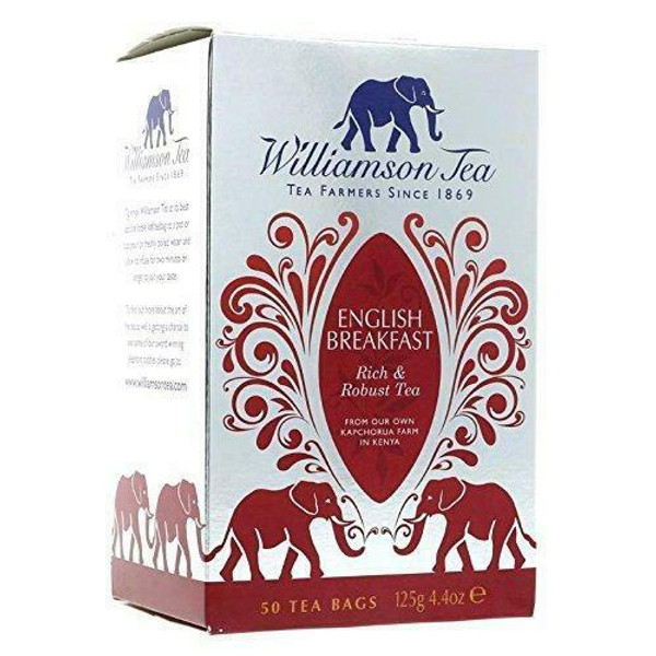 Williamson English Breakfast 50 Tea Bags