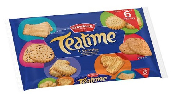 Crawfords Teatime Assortment Biscuits