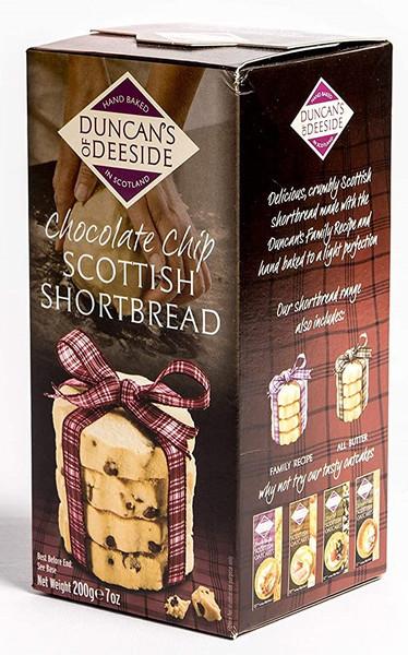 Duncan's of Deeside - Chocolate Chip Scottish Shortbread
