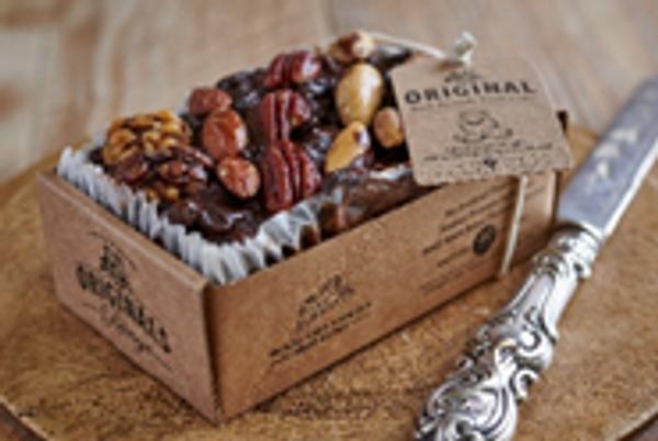 Original Cake Co Christmas Brandy, Fruit and Nut Cake