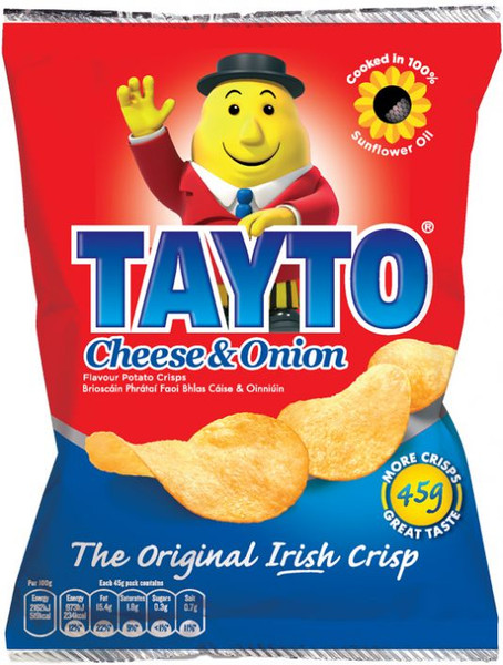 Tayto Cheese & Onion crisps