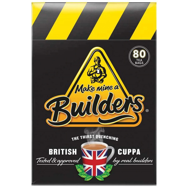 Builders Tea 80 Tea Bags