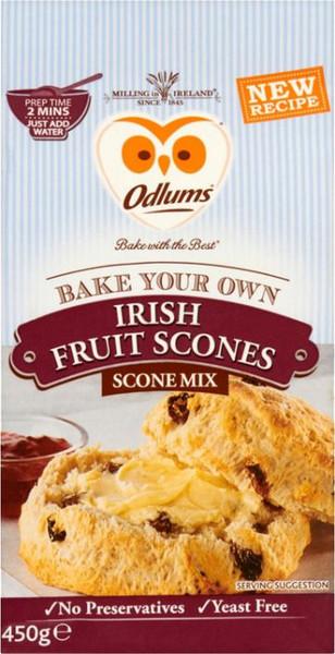 Odlums Irish Fruit Scones Mix
