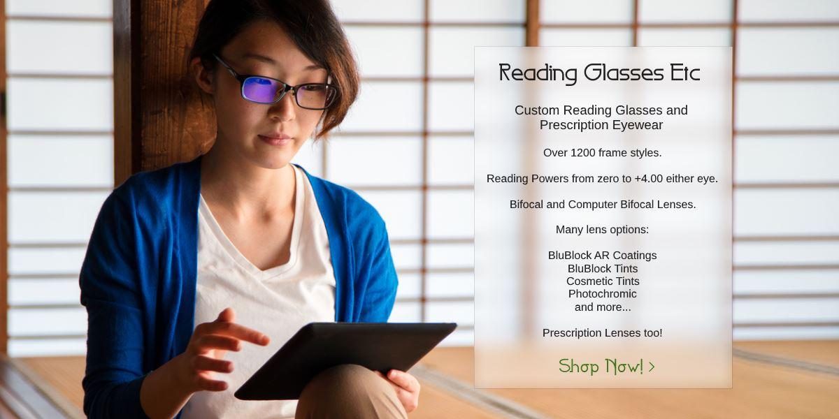 05b19a90ad Reading Glasses Etc