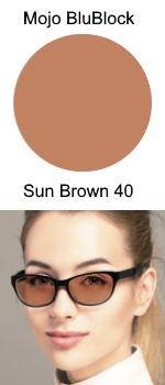 Mojo BluBlock Sun Brown 40