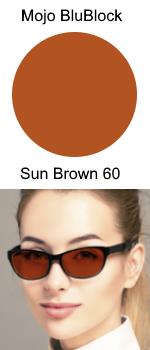 Mojo BluBlock Sun Brown 60