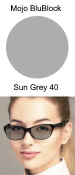Mojo BluBlock Sun Grey 40