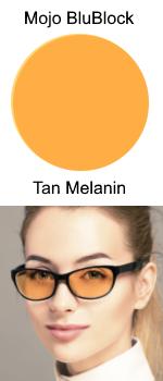 Mojo BluBlock Tan Tint