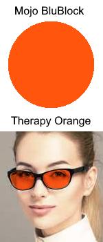 Mojo BluBlock Therapy Orange