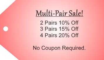 Multi Pair Sale Tag