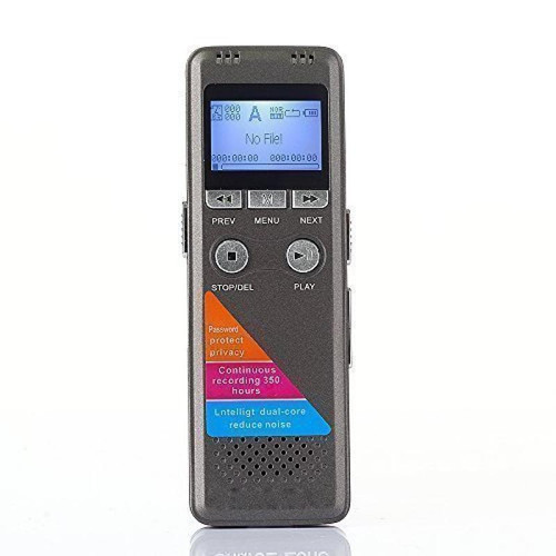 3 Day Digital Voice Activated Audio Recorder