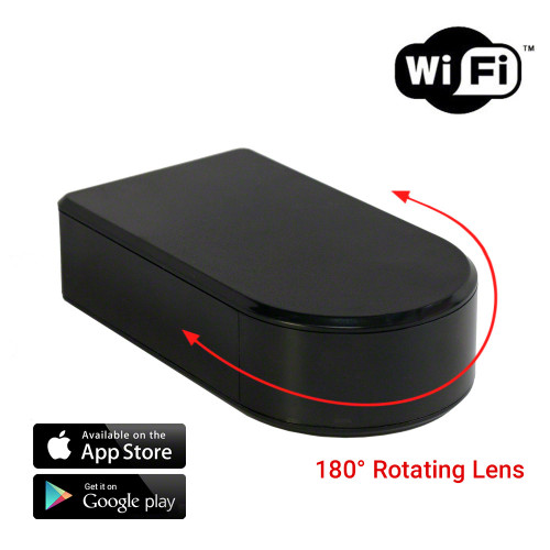 HD 1080P Pro Black Box Security WIFI Camera with Rotatable Lens
