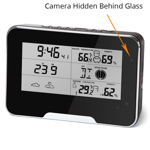 HD 1080P Weather Station Security WIFI Live Stream Camera