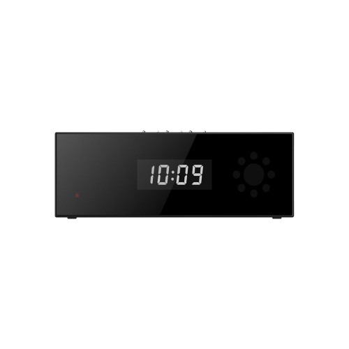 HD 1080P Wireless Speaker and Clock WIFI Hidden Camera iOS or Android