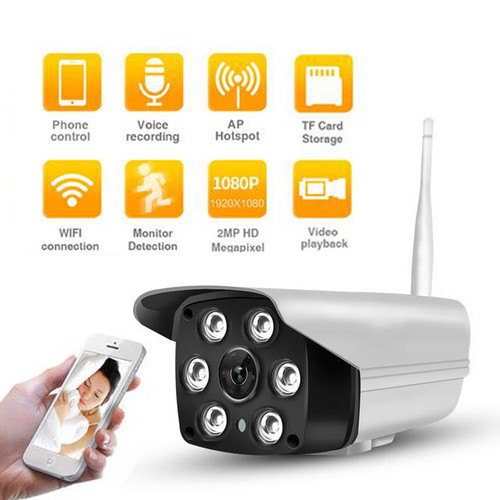 HD WIFI Outdoor Real Time Remote Viewing Digital Video Camera