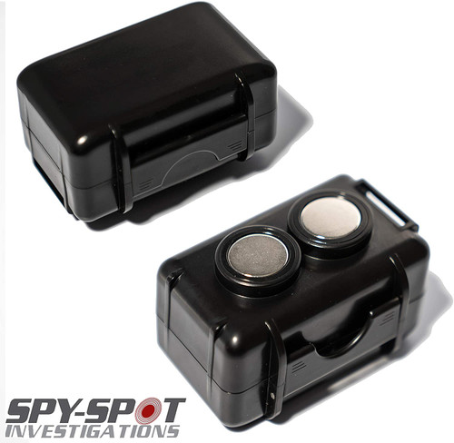 Spy Spot Weatherproof Magnetic Enclosed Strong Magnetic Case for Portable Real Time GPS Tracker